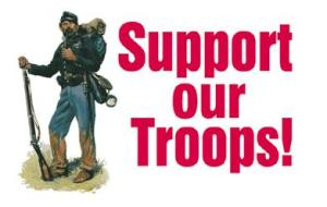 Support Our Troops (and the Union!)