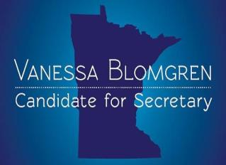 Vanessa Blomgren Candidate for DFL Secretary