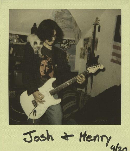 """""""Josh and Henry, September 2007"""""""