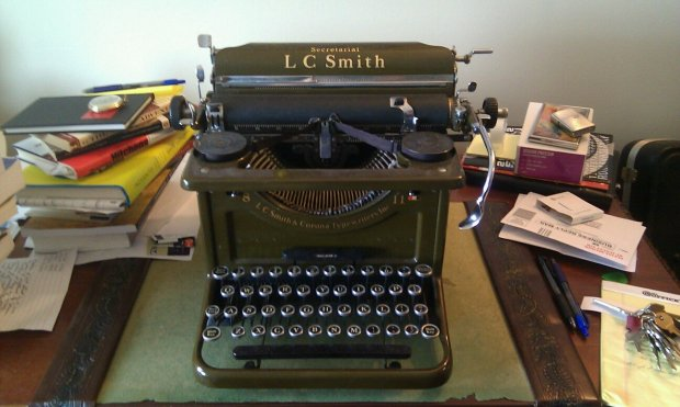 Secretariat LC Smith & Corona Typewriter