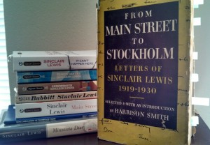 From Main Street to Stockholm: Letters of Sinclair Lewis 1919-1930