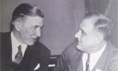 Governor Floyd B. Olson and President Franklin D. Roosevelt in Washington, DC.