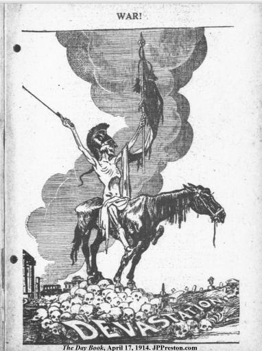 The Day Book - War - 1914