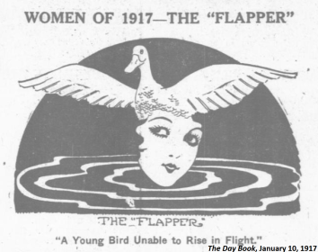 Women of 1917 - The Flapper - Winona Wilcox