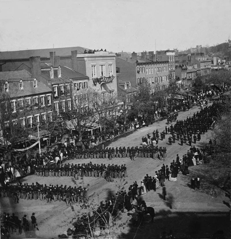 The Funeral of President Lincoln – Joshua Preston