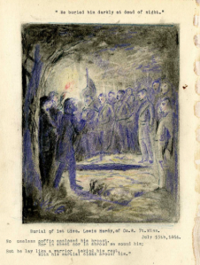 Elijah Evan Edwards - Burial of Lewis Hardy