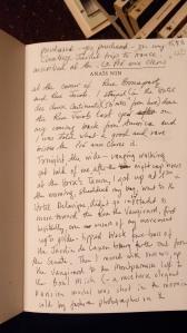 Inscription in Anais Nin Biography