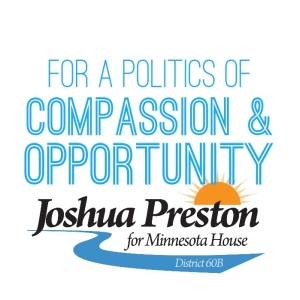 Joshua Preston for Minnesota House 60B 2018